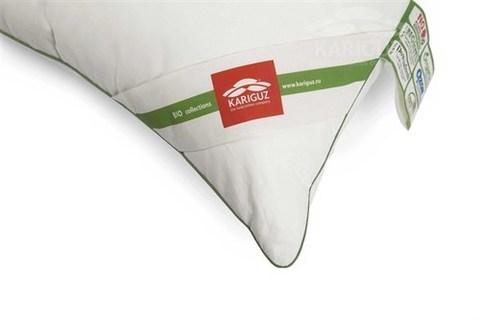Подушка Bio Down/средняя 70% пух, 30% перо (Kariguz) - KARIGUZ