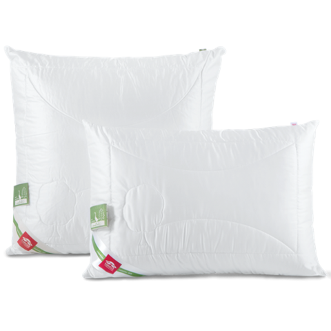 Подушка Bio Tencel/средняя 80% пух, 20% перо (Kariguz) - KARIGUZ